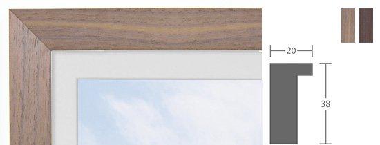 Berlin Bilderrahmen Holz Profil 1083