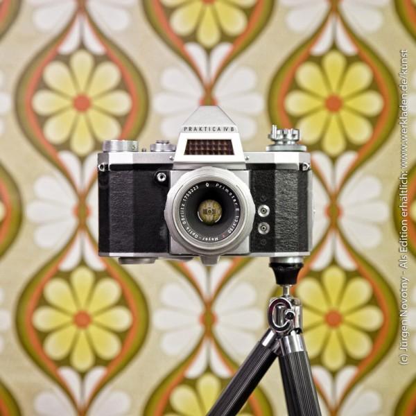 Cameraselfie Praktica IV