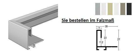 Nielsen Schattenfuge Alu Profil 271