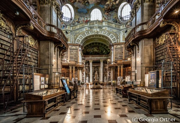 """""""Libreria austriaco""""- Acrylkaschierung"""