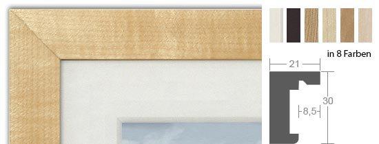 HALBE Magnetrahmen Holz 20