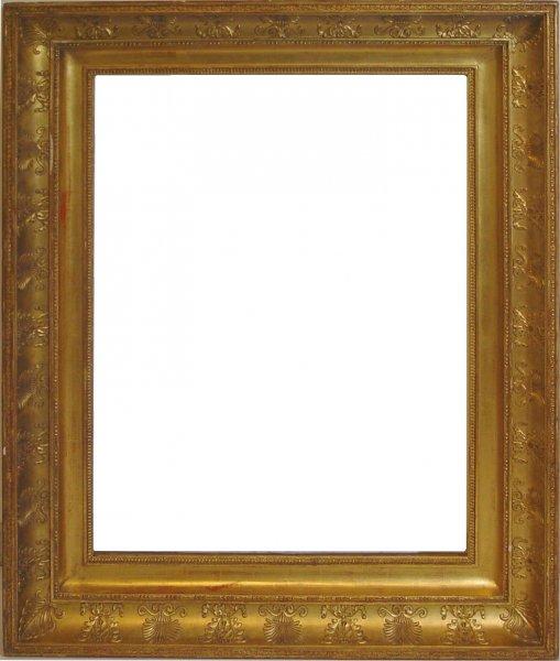 sp tklassizistischer rahmen um 1810 20 antike rahmen bilderrahmen bilderrahmenwerk. Black Bedroom Furniture Sets. Home Design Ideas