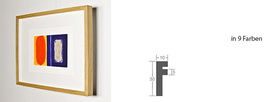 Werkladen-Rahmen Distanz Massivholz Eiche 10