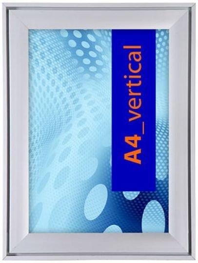 Aluminium Klapprahmen Design in DIN A 4