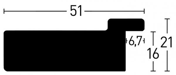 Nielsen Holzrahmen Metropolitan 51