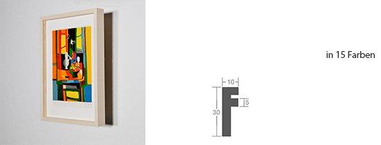 Werkladen-Rahmen Distanz Massivholz Ahorn 10
