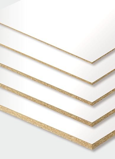 Spanplatte weiß beschichtet Zuschnitt