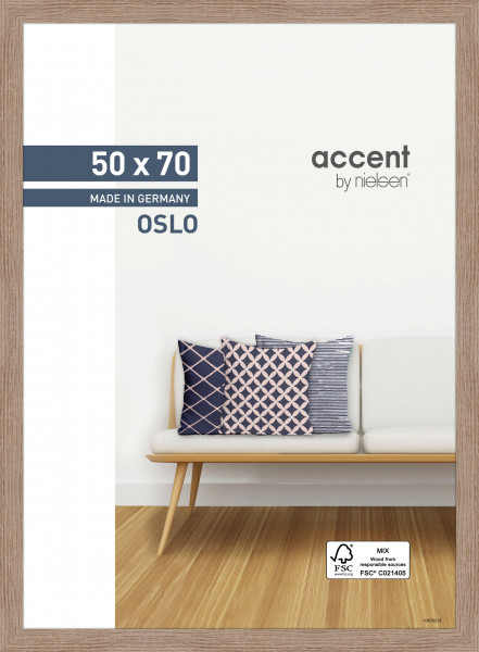 Nielsen Oslo Holz-Bilderrahmen 50x70cm