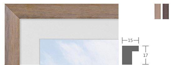 Berlin Bilderrahmen Holz Profil 1060